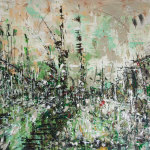 Green city, 170x110cm, 2010.