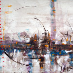 City II, acrylic on canvas, 120x80 cm, 2008.