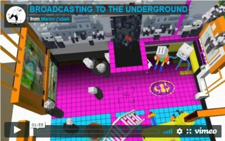 Broadcasting to the underground